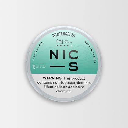 NIC-S Wintergreen 9mg