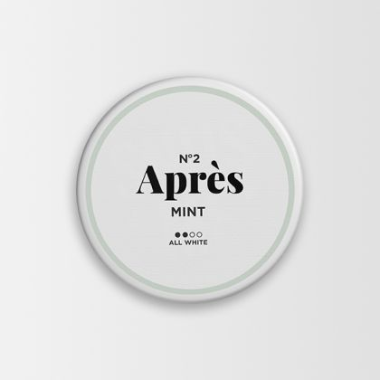 No.2 Aprés Mint All White