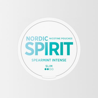 Nordic Spirit Spearmint Intense Slim All White