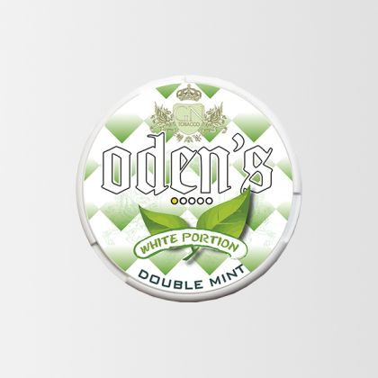 Odens Double Mint White Portion