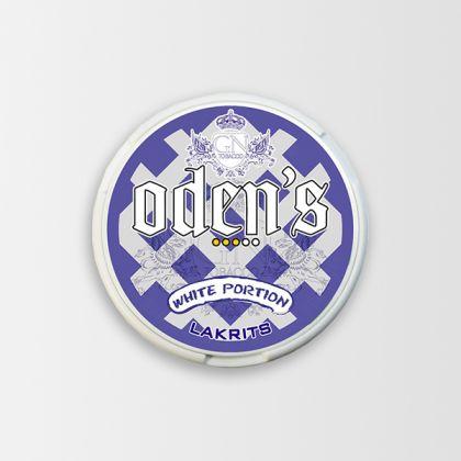 Odens Licorice White Portion