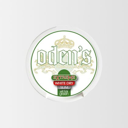 Odens Wintergreen Extreme White Dry Slim