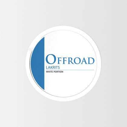 Offroad Licorice White