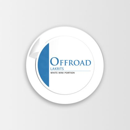 Offroad Licorice White Mini