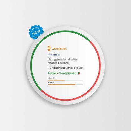 OrangeMan Apple + Wintergreen Xtreme