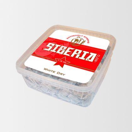 Siberia -80 White Dry 500g