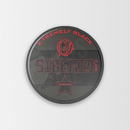 Siberia -80 Xtremely Black Portion