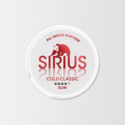 Sirius Cold Classic Slim All White