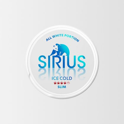Sirius Ice Cold Slim All White