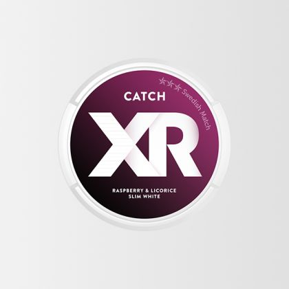 Xrange Catch Raspberry & Licorice Slim White
