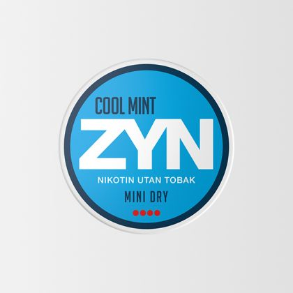 ZYN Cool Mint Mini Dry Strong