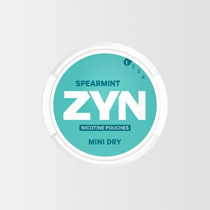 ZYN Spearmint Mini Dry
